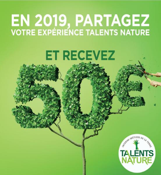 talents-nature espace candidats